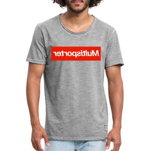 Multisporter - Mannen Vintage T-shirt