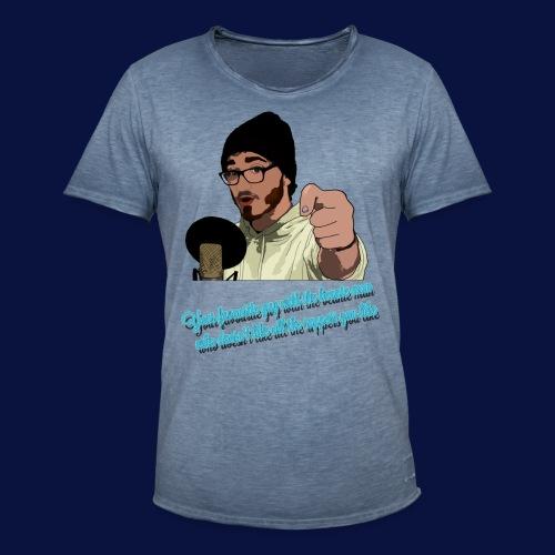 Your Favourite Beanie Man - Men's Vintage T-Shirt