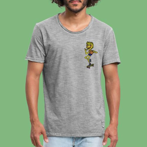 Bart Simpson4 - Camiseta vintage hombre