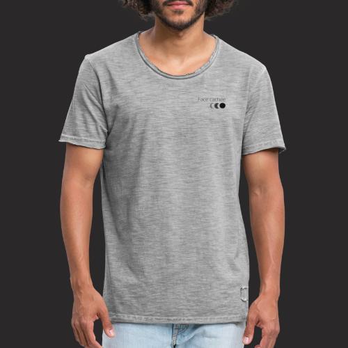 Face Cachée - Original version - T-shirt vintage Homme