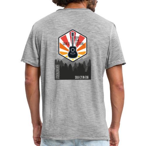 Sola21Cover - Männer Vintage T-Shirt