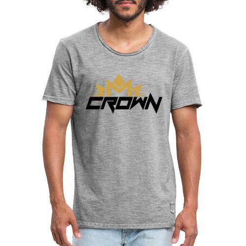 crown neu - Männer Vintage T-Shirt