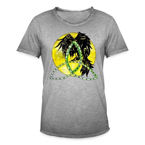 tribalrabe2 - Männer Vintage T-Shirt