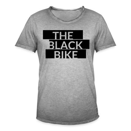 THE BLACK BIKE - T-shirt vintage Homme