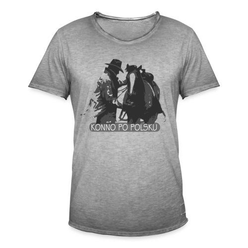 horse2 - Koszulka męska vintage