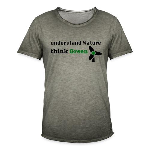Understand Nature. Think Green! - Men's Vintage T-Shirt