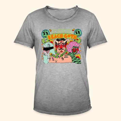 beach goth 2016 - T-shirt vintage Homme