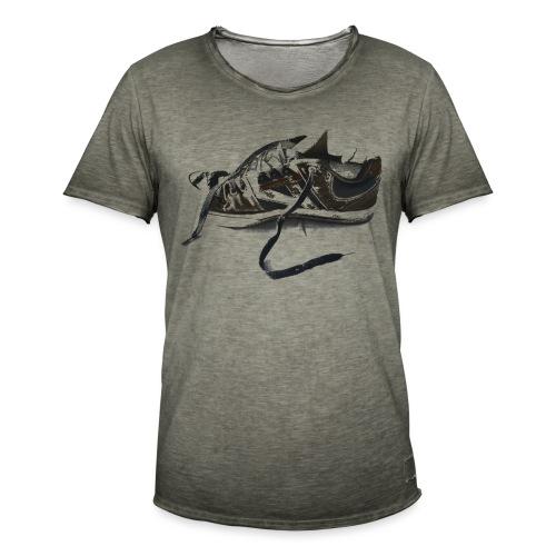 shoe (Saw) - Men's Vintage T-Shirt