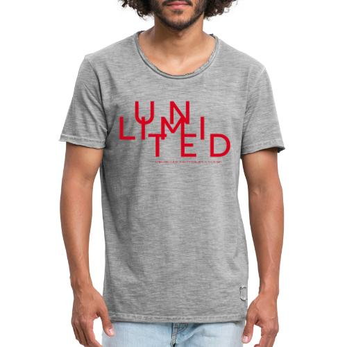 Unlimited red - Men's Vintage T-Shirt