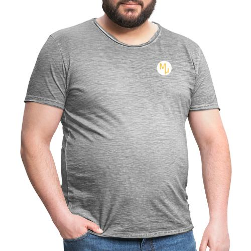 MU DESIGN - T-shirt vintage Homme