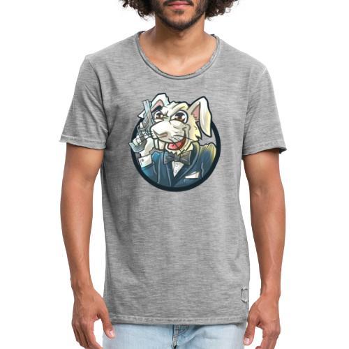 BUNNY - Männer Vintage T-Shirt
