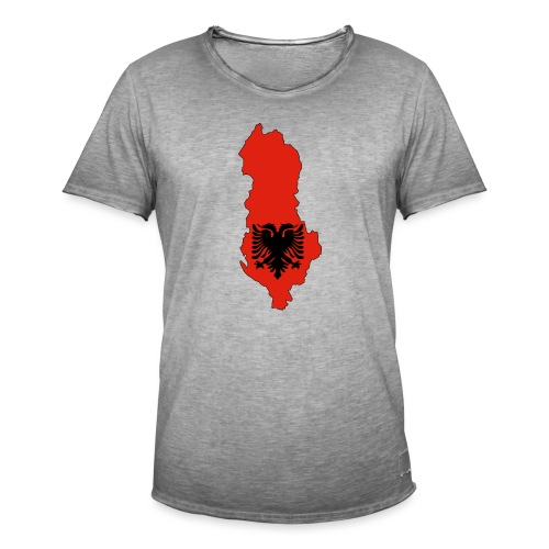 Albania - T-shirt vintage Homme
