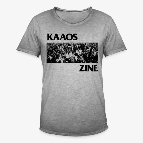 Kaaos Flag - Miesten vintage t-paita