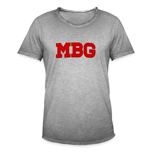 MBG - Mannen Vintage T-shirt
