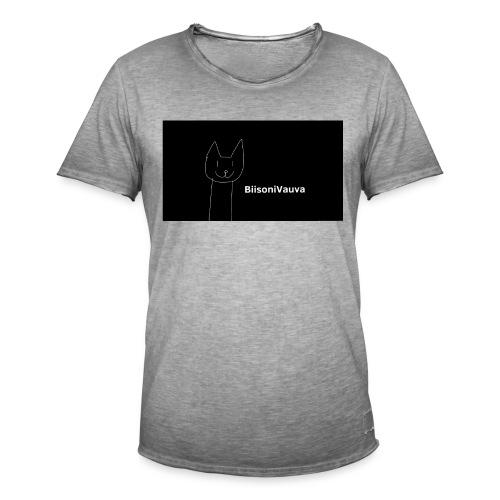 biisonivauva - Miesten vintage t-paita