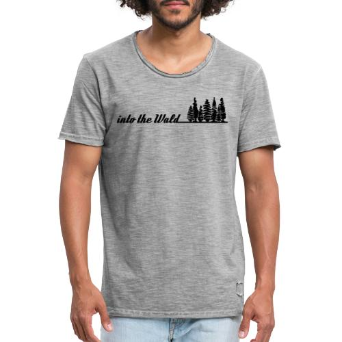 into the wald - Männer Vintage T-Shirt