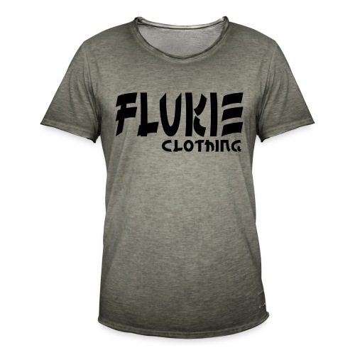 Flukie Clothing Japan Sharp Style - Men's Vintage T-Shirt