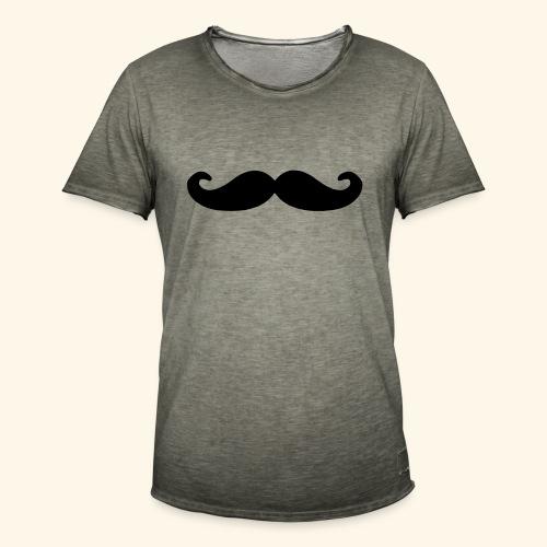 Loco Moustache - Mannen Vintage T-shirt