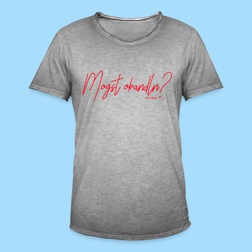 Mogst Obandln Rot - Männer Vintage T-Shirt