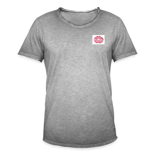 golden hour - Vintage-T-skjorte for menn