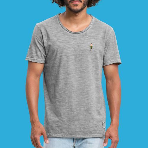Adventurer -small - Mannen Vintage T-shirt