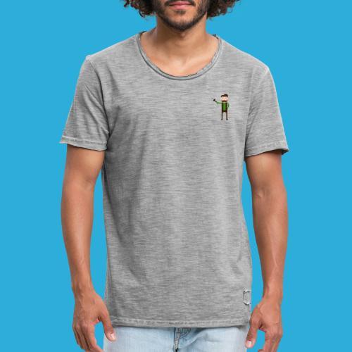 adventurer with beard - Mannen Vintage T-shirt