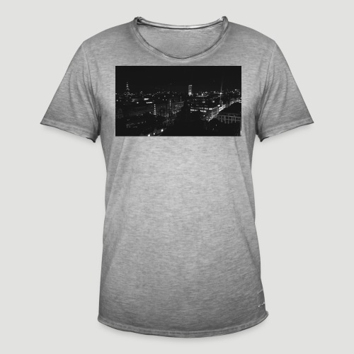 Londres night city - Camiseta vintage hombre