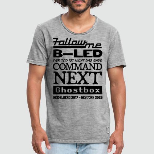 Ghostbox – Das Finale - Männer Vintage T-Shirt
