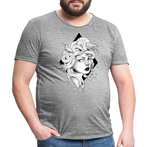 Medusa Gorgone - Men's Vintage T-Shirt