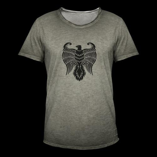 HAUKKA ei tekstia - Miesten vintage t-paita