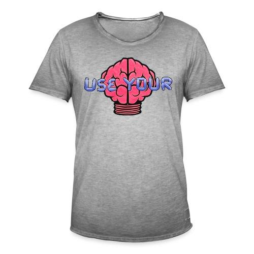 Use Your Ditzel - Herre vintage T-shirt