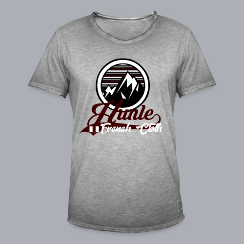 Hunle Graphic Mountain N°1 - T-shirt vintage Homme