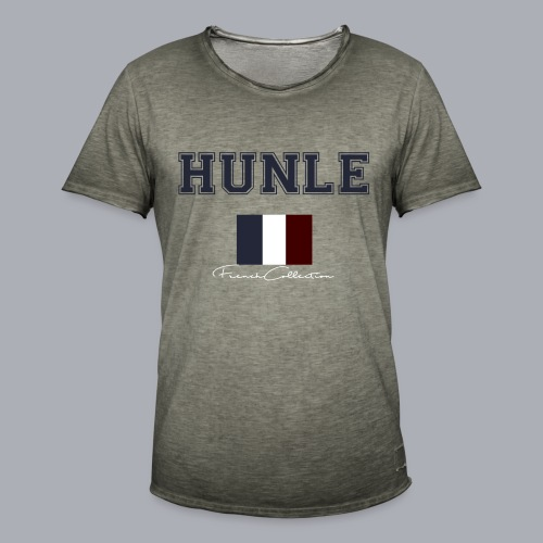 hunle French Collection n°1 - T-shirt vintage Homme