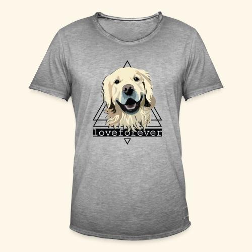 RETRIEVER LOVE FOREVER - Camiseta vintage hombre