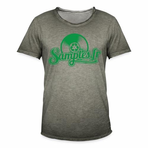Samples.fr Vert - T-shirt vintage Homme