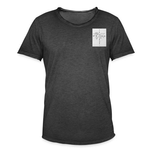 Wanderlust - Mannen Vintage T-shirt