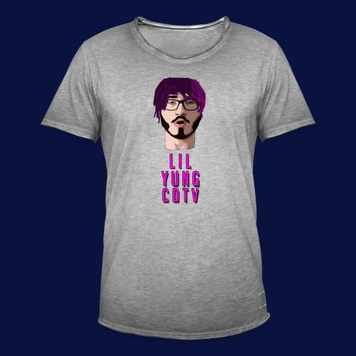 LIL YUNG CDTV ALT. TEXT - Men's Vintage T-Shirt