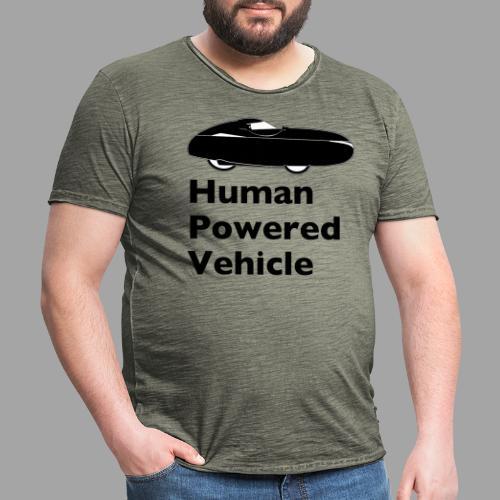 Quest Human Powered Vehicle 2 black - Miesten vintage t-paita