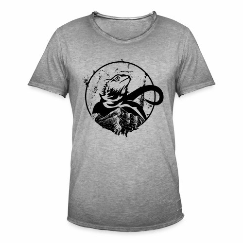 Bearded Dragon - Männer Vintage T-Shirt