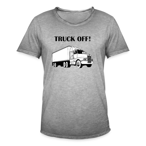 Truck off! - Men's Vintage T-Shirt