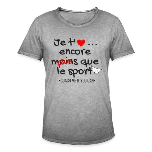 Saint Valentin - T-shirt vintage Homme