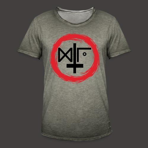 Logo Gu Croix Noir - T-shirt vintage Homme