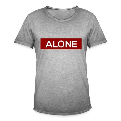 Alone RED Edition - Maglietta vintage da uomo