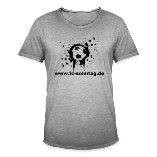 FC Sonntag Ball - Männer Vintage T-Shirt