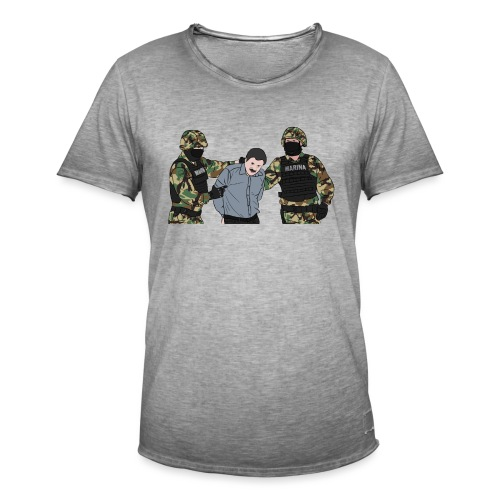 EL CHAPO - Männer Vintage T-Shirt