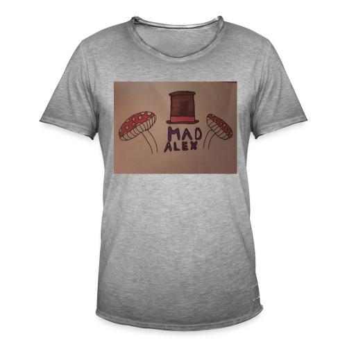 Mad Alex Logo - Men's Vintage T-Shirt