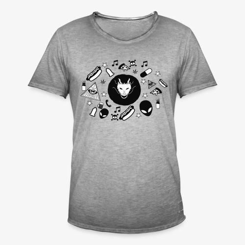 TRIPPY - Mannen Vintage T-shirt