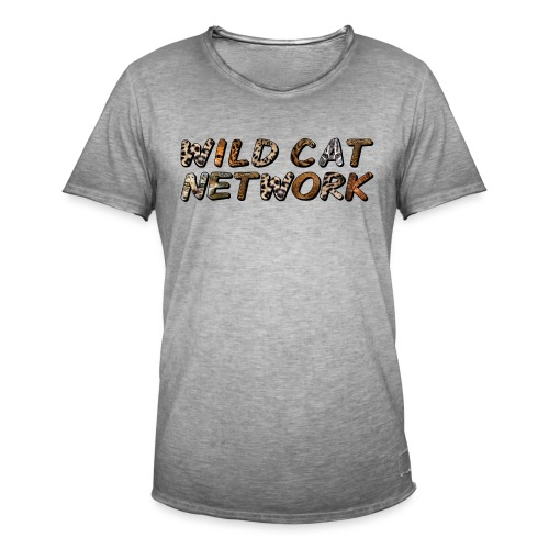 WildCatNetwork 1 - Men's Vintage T-Shirt