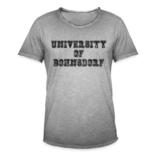 University of Bohnsdorf - Männer Vintage T-Shirt
