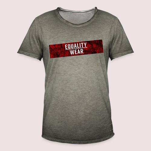 Equality Wear Long Rose Print Edition - Men's Vintage T-Shirt